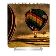 Following Amazing Grace Shower Curtain by Bob Orsillo