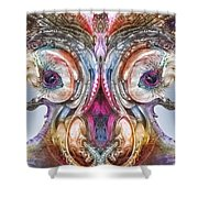 Fomorii Incubator Remix Shower Curtain by Otto Rapp