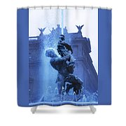 Fontana Delle Naiadi Shower Curtain