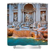 Fontana Di Trevi Shower Curtain