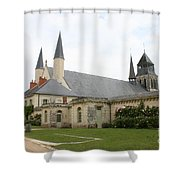 Fontevraud Abbey -  France Shower Curtain