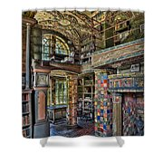 Fonthill Castle Library Room Shower Curtain