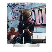 Foo Fighters Love Ride 25 Shower Curtain
