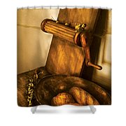Food -  Bread  Shower Curtain