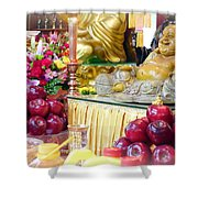 Food Offers Shower Curtain