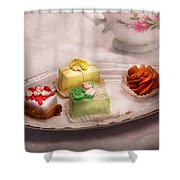 Food - Sweet - Cake - Grandma's Treats  Shower Curtain