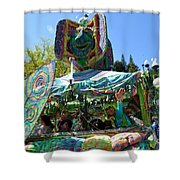 Fools Float Shower Curtain