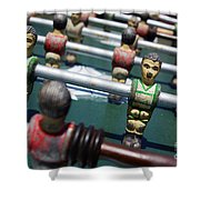 Foosball Shower Curtain