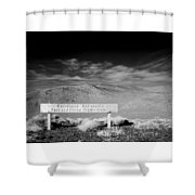 Foot And Horse Traffic Only Shower Curtain