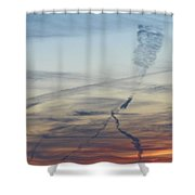 Foot In The Sky Shower Curtain