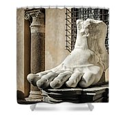 Foot Of Constantine Shower Curtain