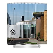 Football Hall Of Fame In Canton Shower Curtain