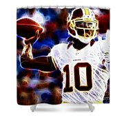 Football - Rg3 - Robert Griffin IIi Shower Curtain