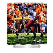 Football Time In Tennessee Shower Curtain