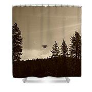 Foothills Flight Shower Curtain