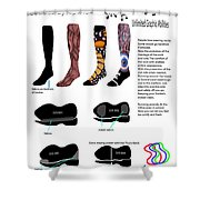 Footwear Shower Curtain
