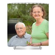 Foozi And His Wife Shower Curtain