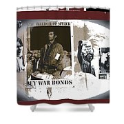 For And Against War Ww1 Ww2 Vietnam 1971-2012 Shower Curtain
