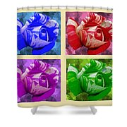 For Beautiful Roses Shower Curtain