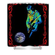 For Earth Below #2 Shower Curtain