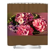 For I Know The Plans Shower Curtain