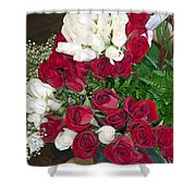 For My Loving Wife Shower Curtain
