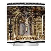 For Our Sins Shower Curtain
