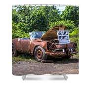For Sale By Owner Shower Curtain by Rick Kuperberg Sr