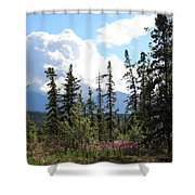For Spacious Skies Shower Curtain