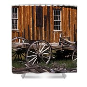 For Spare Parts Shower Curtain