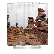For The Druids Shower Curtain