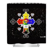 For The Love Of God Shower Curtain