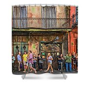 For The Love Of Jazz Shower Curtain