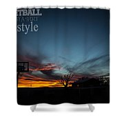 For The Love Of The Game Shower Curtain