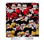 For The Mickey Mouse Lovers Shower Curtain