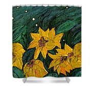 For Vincent By Jrr Shower Curtain