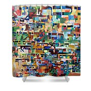 for we have already merited to receive the Torah 8 Shower Curtain