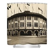 Forbes Field Pittsburgh 1909 Shower Curtain
