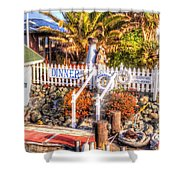 Forbes Island Shower Curtain