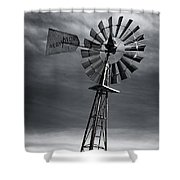 Forboding Skies Shower Curtain