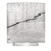Forces From Below Shower Curtain