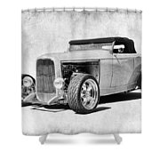 Ford 32 Roadster Shower Curtain