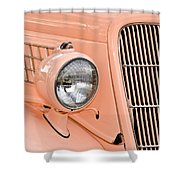 Ford Classic In Salmon Shower Curtain