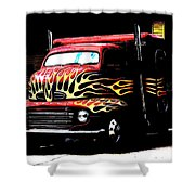 Ford Coe. Shower Curtain