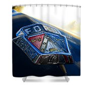 Ford Crest Shower Curtain