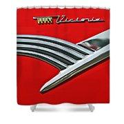 Ford Crown Victoria Emblem Shower Curtain