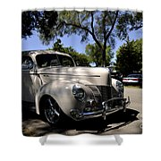 Ford Deluxe Shower Curtain