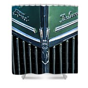 Ford Deluxe V8 Shower Curtain