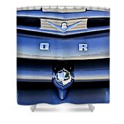 Ford F-1 V8 Truck Front End Shower Curtain