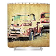 Ford F1 Shower Curtain